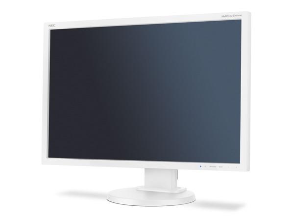 "NEC 24"" EA245WMi - 1920x1200, PLS, W-LED, 250cd, D-sub, DVI, DP, Repro, bílý"