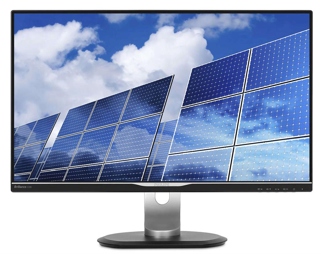 "Philips MT IPS LED 25"" 258B6QJEB/00 - IPS panel, 2560x1440, 350cd, D-Sub, DVI, HDMI, DP, USB, repro, pivot"