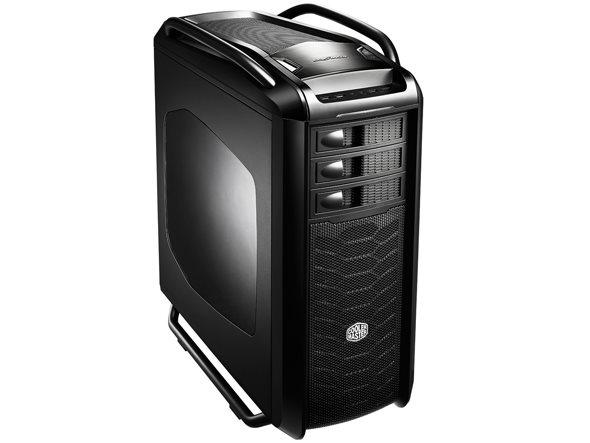 CoolerMaster case bigtower Cosmos SE, ATX,bez zdroje, black, USB3.0