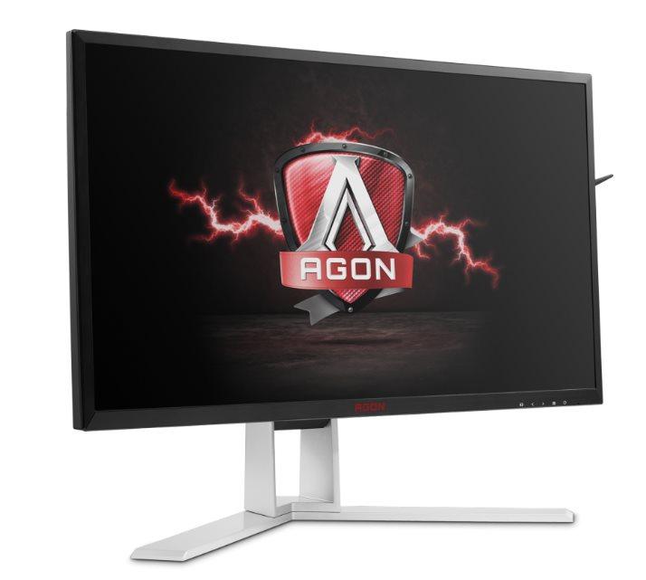 "AOC LCD AG241QX 23,8""wide/2560x1440/1ms/50m:1/VGA/DVI/2xHDMI/4xUSB/DP/repro/vesa"