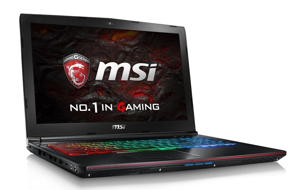 """MSI GE62VR 6RF-094CZ Apache Pro/i7-6700HQ Skylake/16GB/1TB HDD 7200 ot./DVDRW/GTX1060, 3GB/15.6"""" FHD/Win10"""
