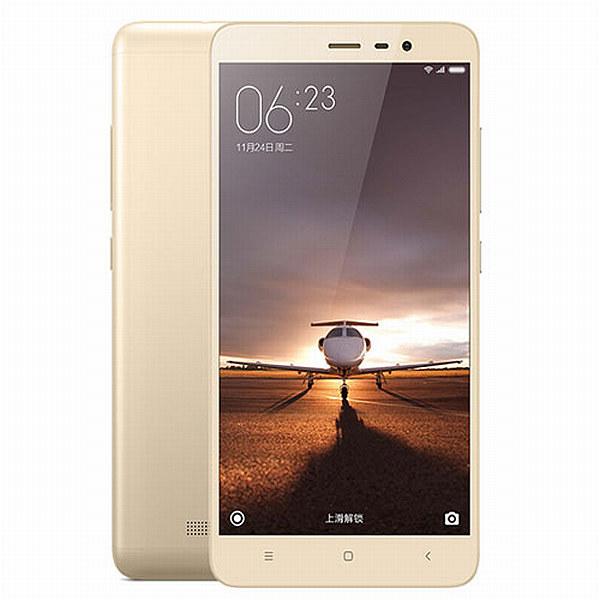 Xiaomi Redmi Note 3 CZ LTE Gold/ 5,5´´ 1920x1080/1,8GHz HC/2GB/16GB/SD/2xSIM/FP/16MPx/4000mAh