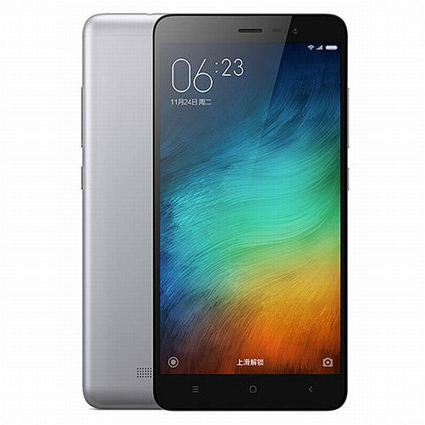 Xiaomi Redmi Note 3 CZ LTE Grey/ 5,5´´ 1920x1080/1,8GHz HC/2GB/16GB/SD/2xSIM/FP/16MPx/4000mAh
