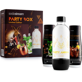 PARTY BOX 2x koktejl + lahev SODASTREAM