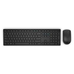 Dell Wireless Keyboard and Mouse-KM636 - Czech (QWERTZ) - Black