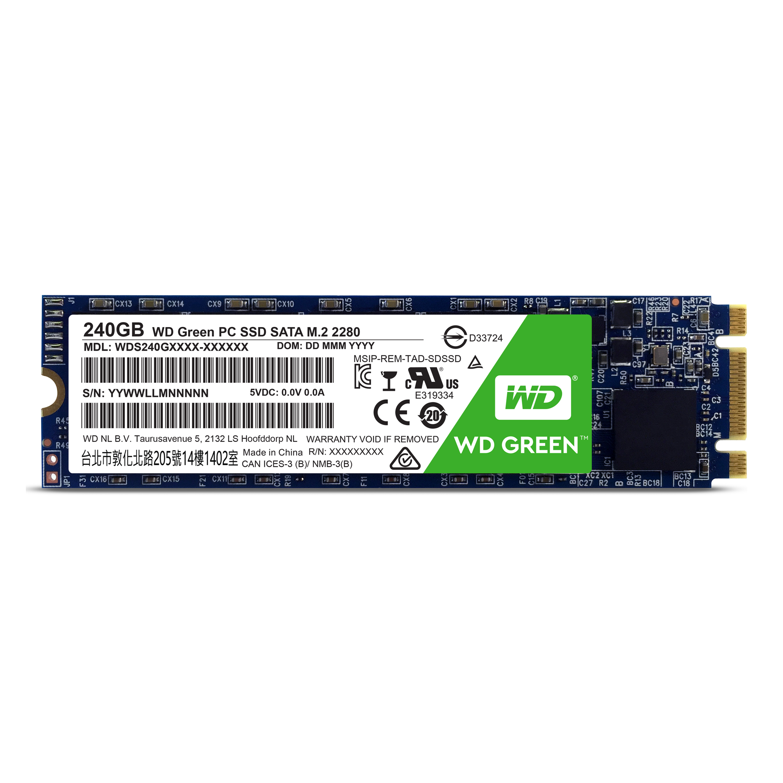 WD GREEN SSD WDS240G1G0B 240GB SATA/600 M.2 2280