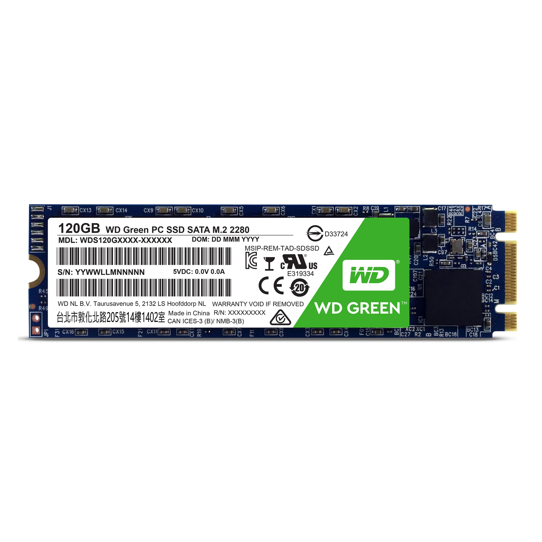 WD GREEN SSD WDS120G1G0B 120GB SATA/600 M.2 2280