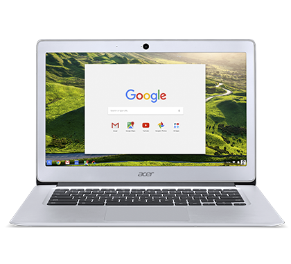 "Acer Chromebook 14 (CB3-431-C1KH) Celeron N3060/2 GB+N/A/eMMC 32GB+N/A/HD Graphics/14"" HD matný/BT/Google Chrome/Silver"