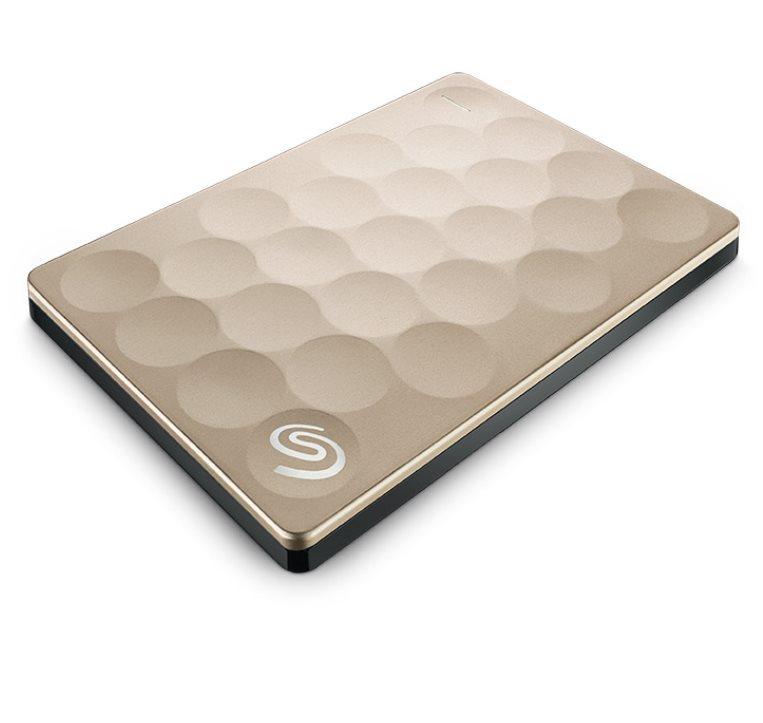 "Seagate Backup Plus Ultra Slim, 2TB externí HDD, 2.5"", USB 3.0, gold"