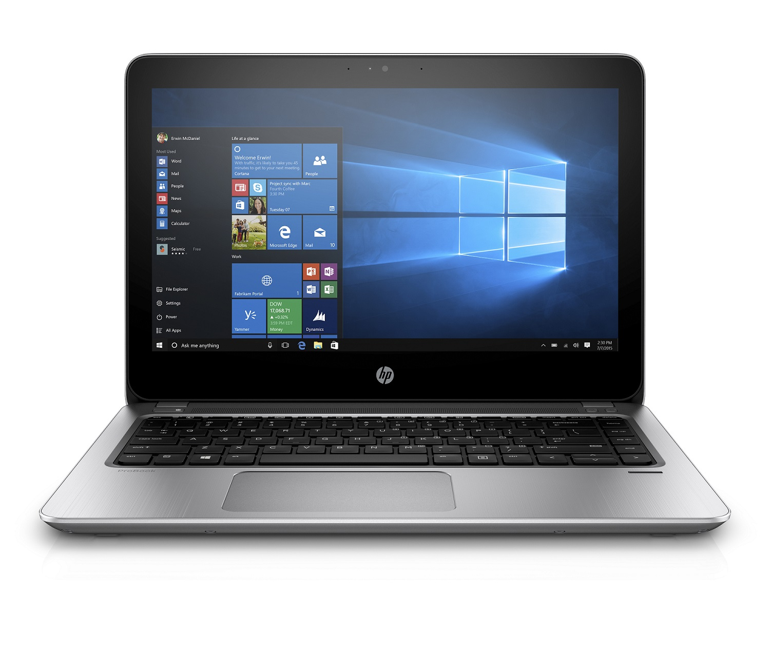 HP ProBook 430 G4 i3-7100U/4GB/128GB SSD+slot 2,5''/13.3 HD/Backlit kbd, Win 10 Pro