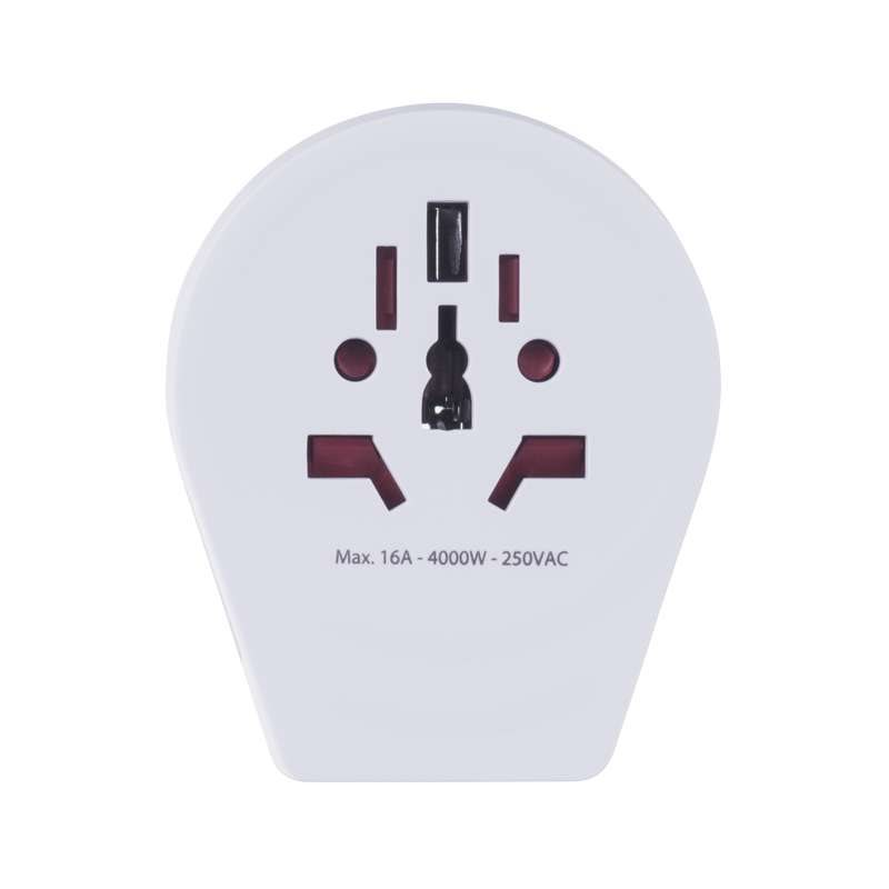Emos cestovní adaptér 1.500260, 1x USB 2.1A