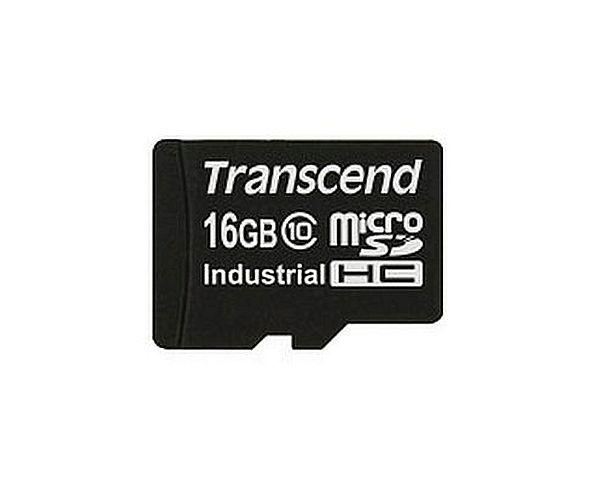 Transcend 16GB microSDHC (Class 10) průmyslová karta (bez adaptéru)
