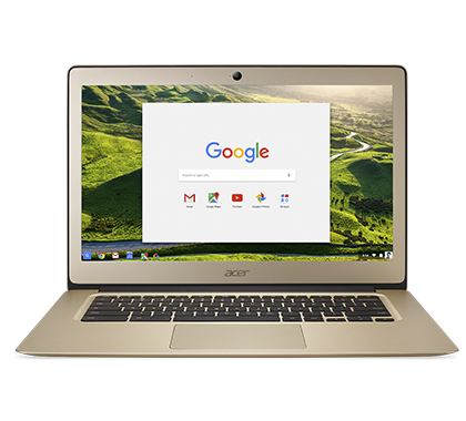 "Acer Chromebook 14 (CB3-431-C3LS) Celeron N3160/4GB+N/A/eMMC 32GB+N/A/HD Graphics/14"" FHD matný/BT/Google Chrome/Gold"