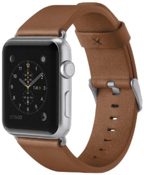 BELKIN Apple watch řemínek,42mm, hnědý