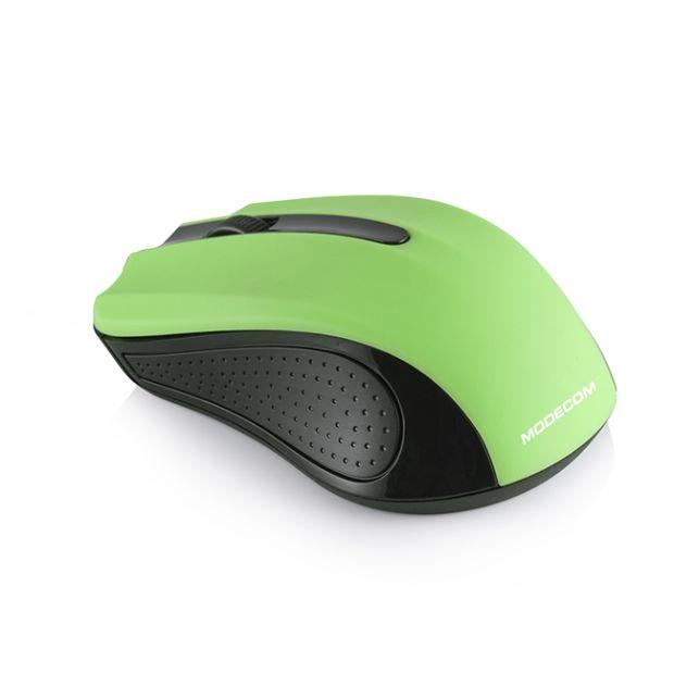Modecom bezdrátová optická myš MC-MW9 (černo-zelená)