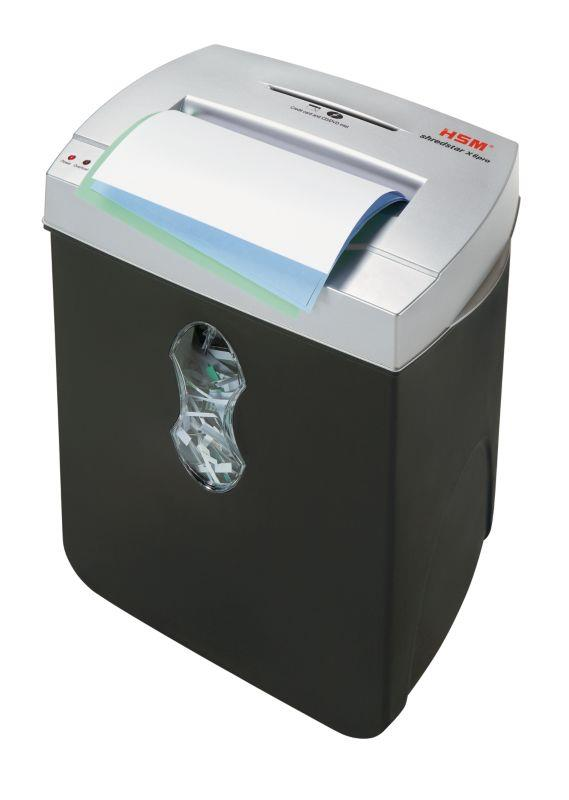 HSM Shredstar X6pro - cross cut 2x15mm/ 6 sheets 80 g/ 21 l bin/ DIN 4