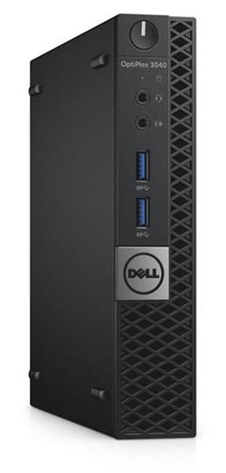 Dell Optiplex 3040 MFF G4400T 4GB 500GB Win10P(64bit) 3y NBD