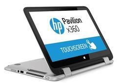 HP Pavilion x360 13-s000nc, Core i3-5010U dual, 13.3 FHD, UMA, 4GB, 500GB + 8GB NAND, W8.1, Natural silver