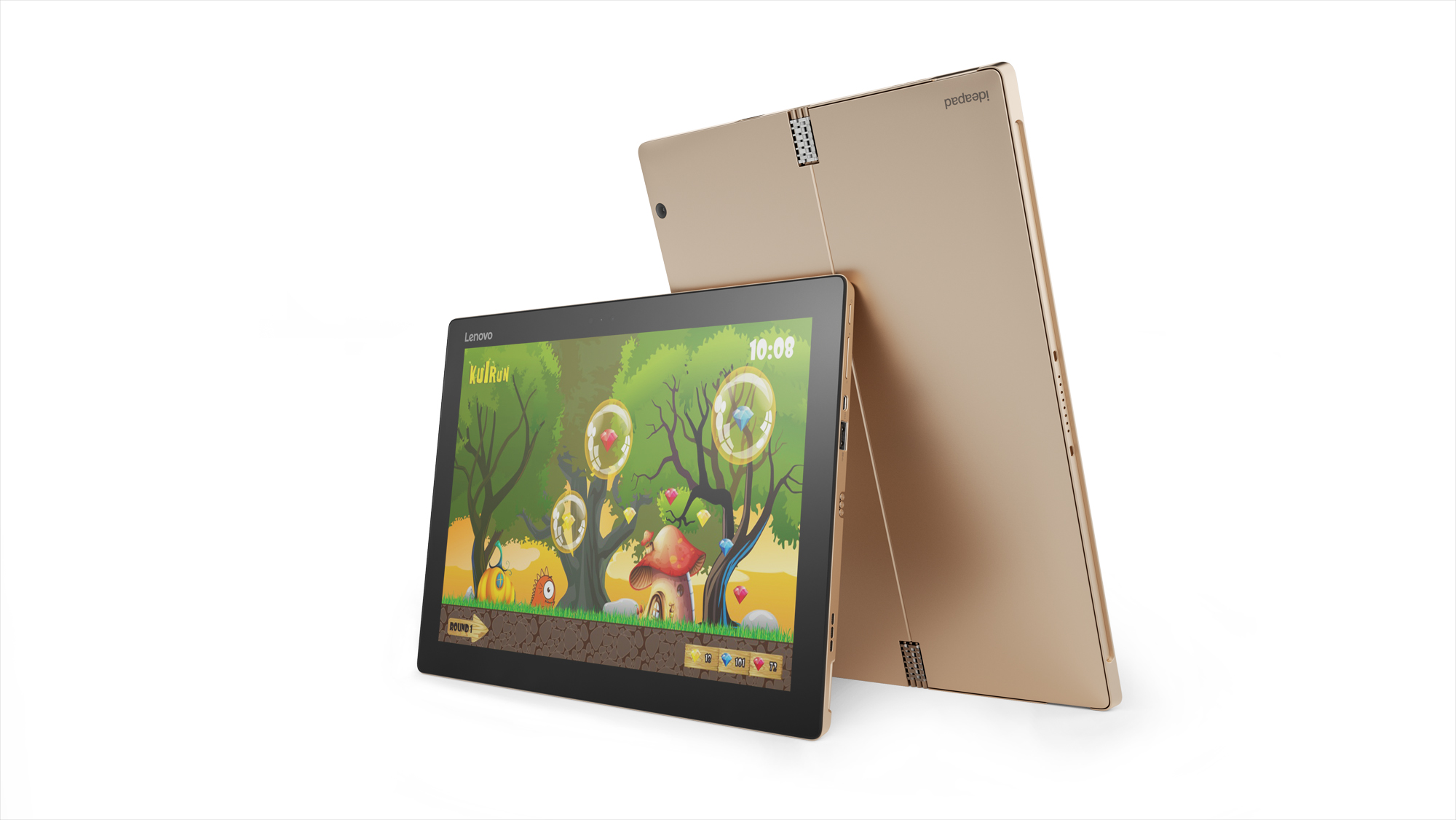 "Lenovo Tablet MiiX 700 M5-6Y54 2,70GHz/8GB/256GB SSD/12,0"" FHD+ IPS/multitouch/KBRD CASE/WIN10PRO zlatá 80QL008DCK"