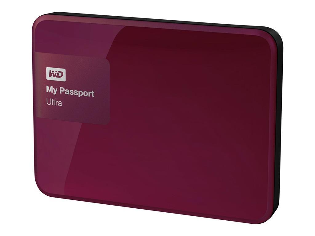 "WD My Passport 1TB Ext, 2,5"" USB3.0, RED"