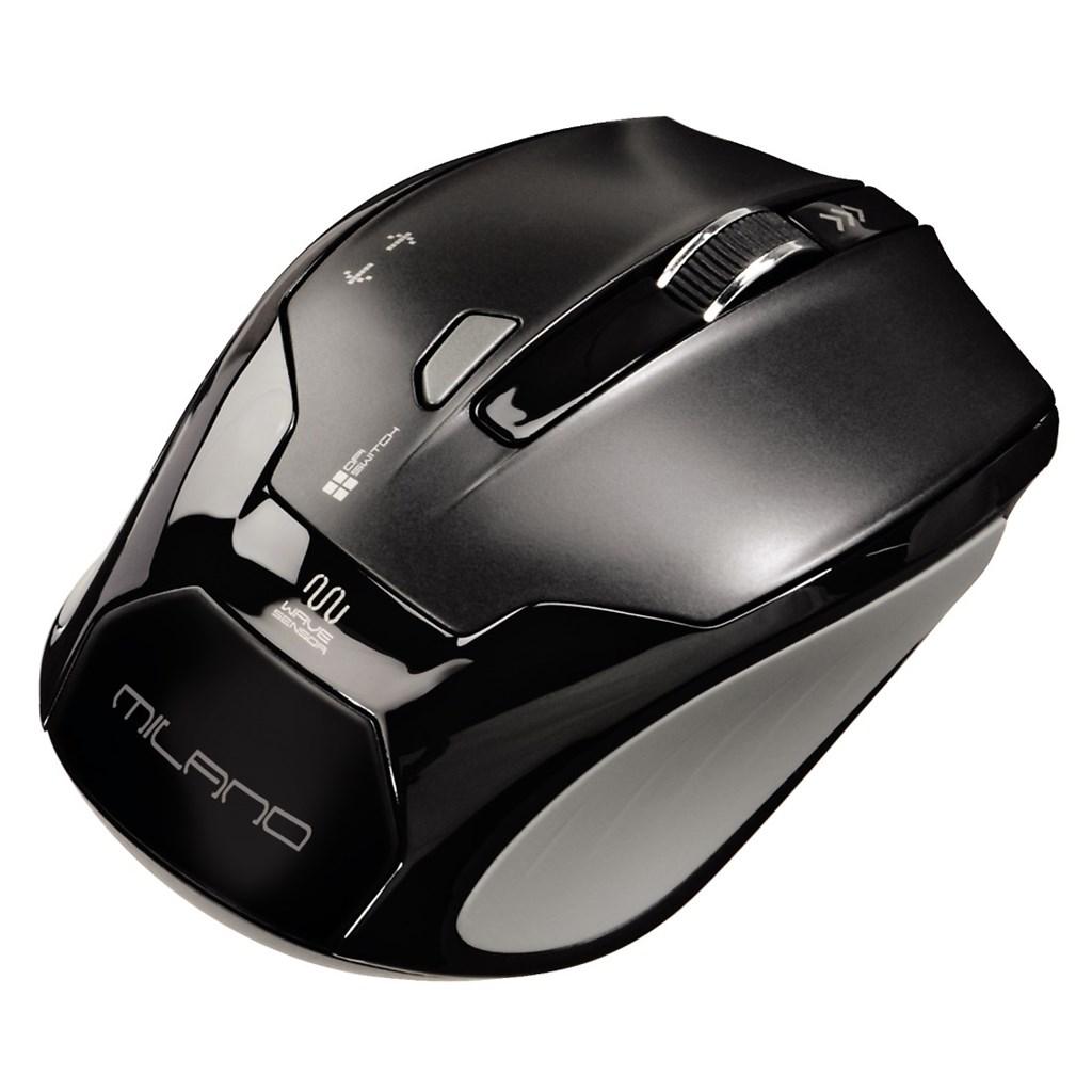 Hama optická bezdrátová myš Milano, černá