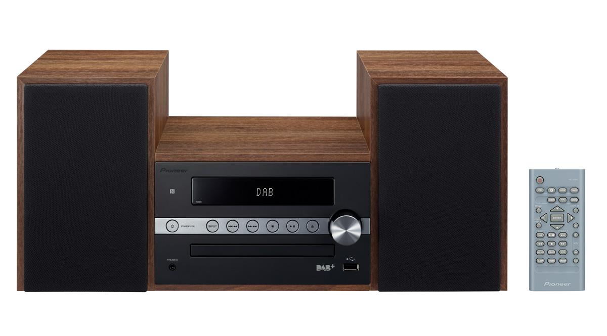 Pioneer mikro systém s CD, USB, BT, NFC, DAB černý