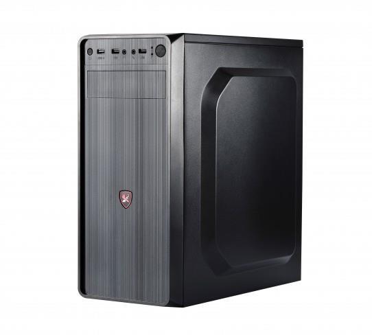 PC case ATX 1505B, 420W PSU, ATX, Black