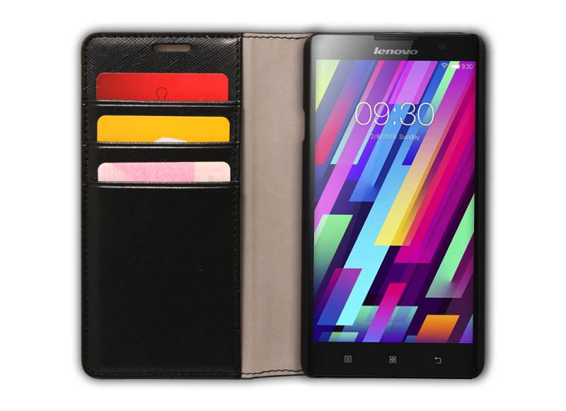 Pouzdro pro Lenovo Smartphone P90 Flip Case Black