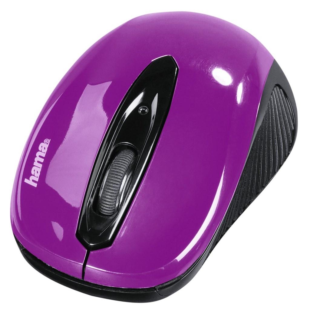 """Hama optická myš """"AM-7300"""", černá/ostružinová"""