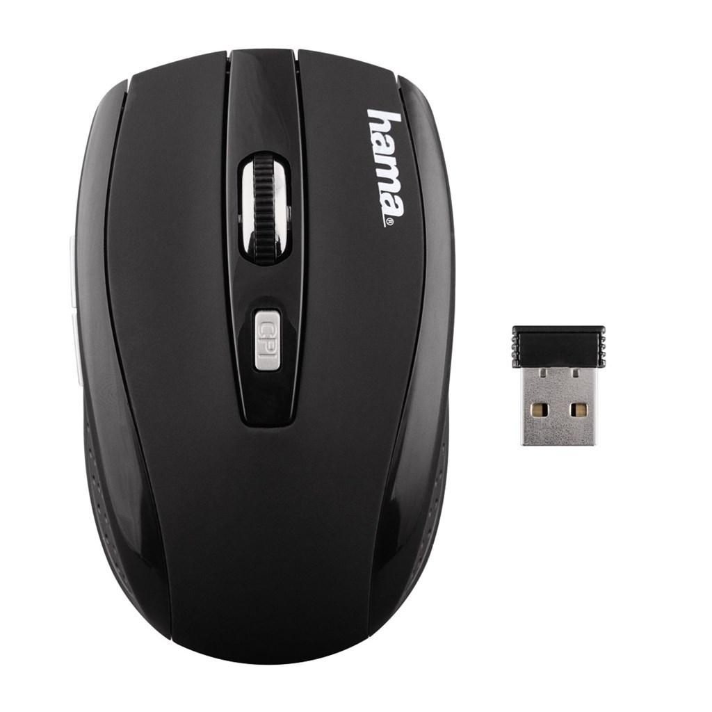 Hama optická bezdrátová myš AM-7800, černá