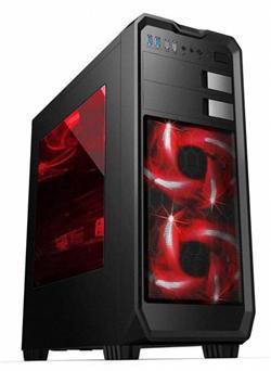 Eurocase ML X807 ATX, 2x USB 3.0, 2x USB 2.0, černá, bez zdroje