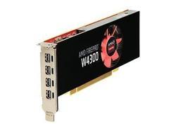 AMD FirePro W4300 4GB GDDR5, 4 mDP, PCIe 3.0
