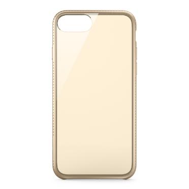 Belkin iPhone pouzdro Air Protect, průhledné zlaté pro iPhone 7