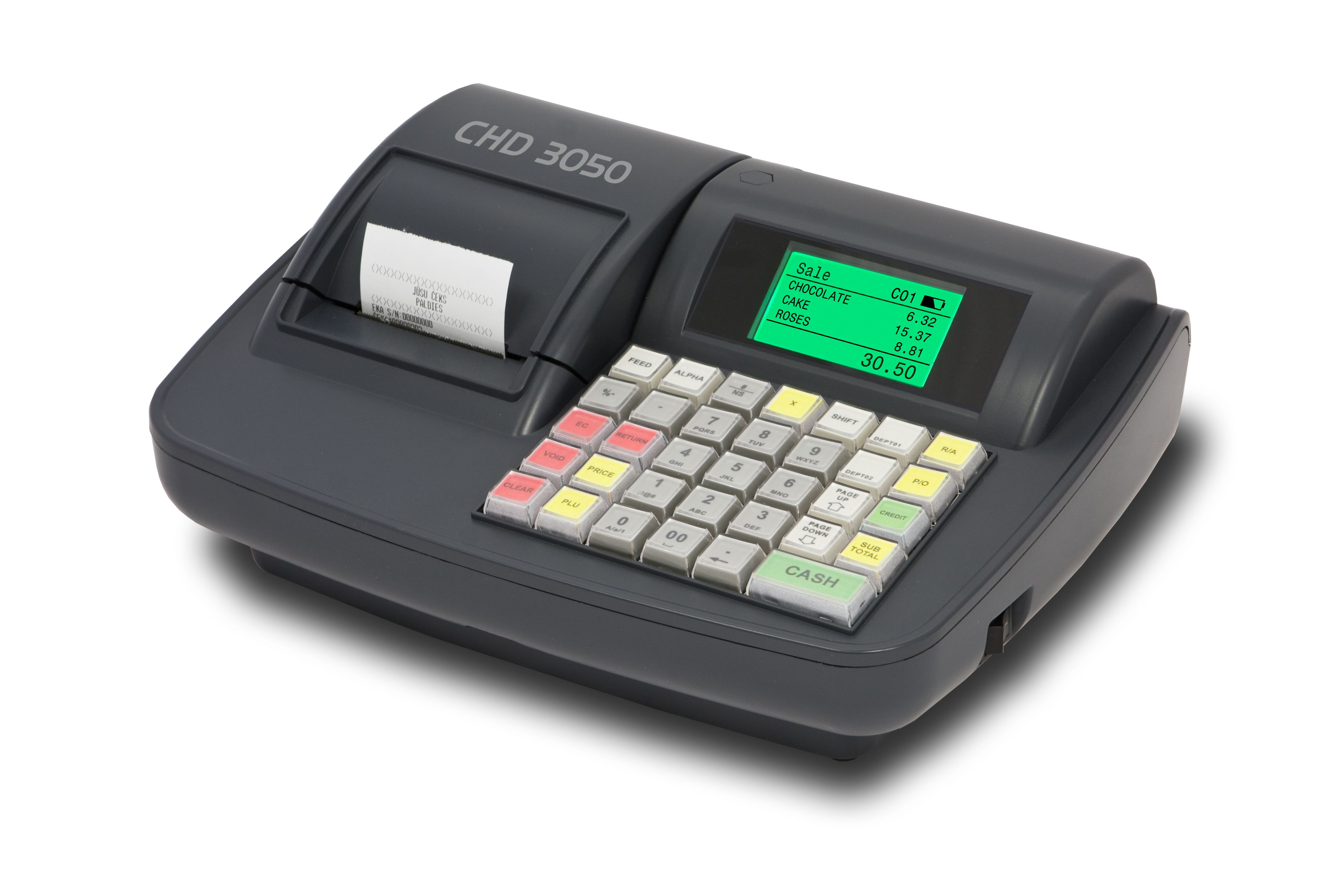 X-POS Registrační pokladna - CHD3050 - SKLADOVKA