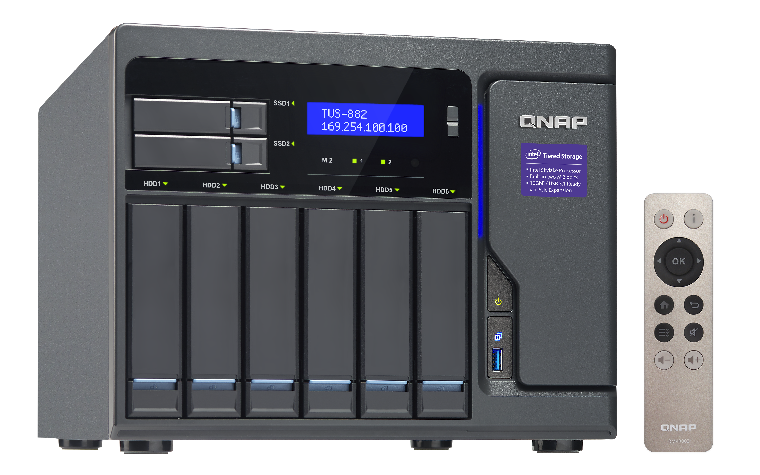 QNAP TVS-882-i5-16G (3,6G/16GB RAM/8xSATA)