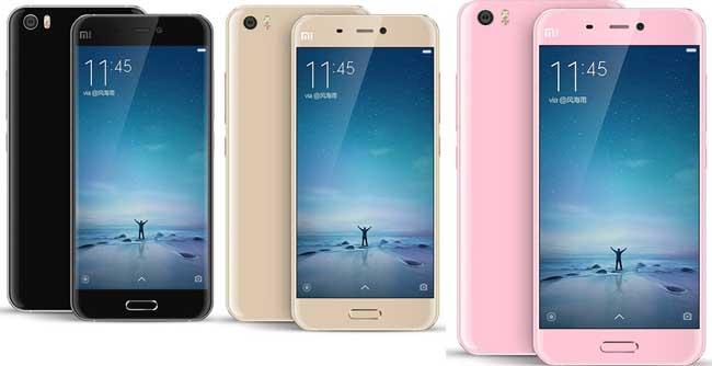 Xiaomi Mi5 Pink / 5,15´´ IPS GG4 1920x1080/1,8GHz QC/3GB/64GB/2xSIM/SD/FP/LTE/16MPx/3000mAh