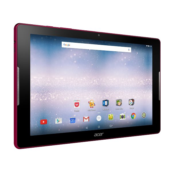 "Acer Iconia One 10 (B3-A30-K93U) MT8163 quad-core Cortex A53/10.1""Touch IPS 1280x800 HD/1GB/eMMC 16GB/BT/GPS/Cam/Android 6.0/Red"