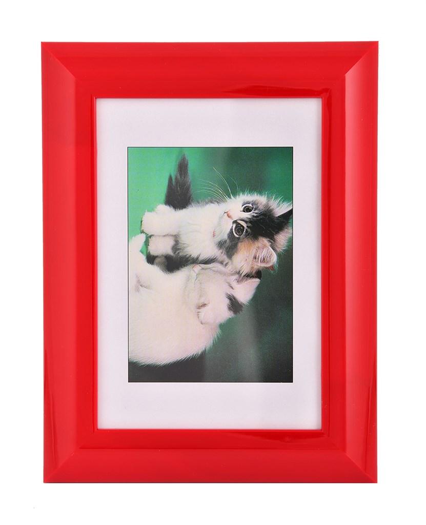 Hama rámeček plastový PALMA, červený, 13x18cm