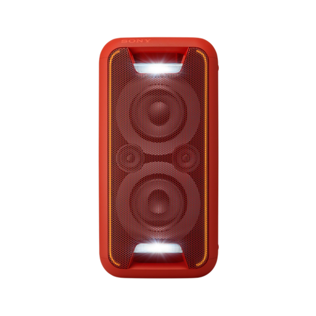 SONY GTK-XB5 - Domácí audiosystém s vysokým výkonem s technologií Bluetooth® - Red