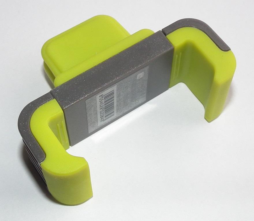 Techly Držák pro smartphony/GPS navigace do mřížky ventilace, olivový