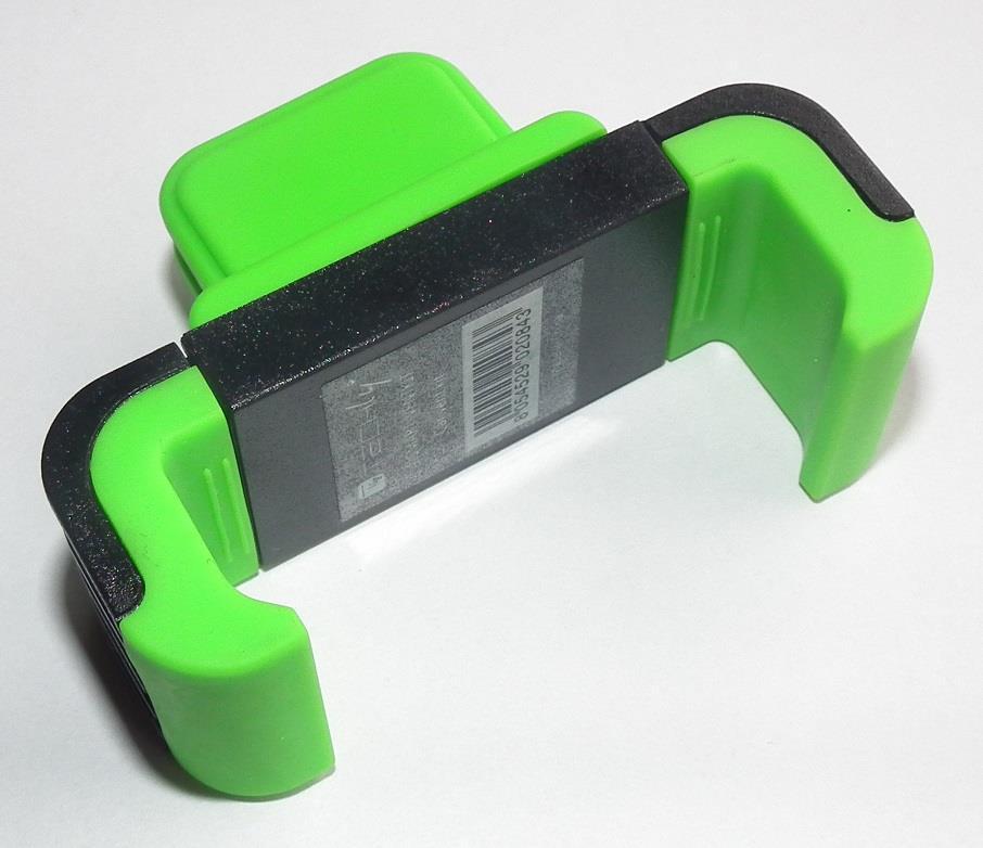 Techly Držák pro smartphony/GPS navigace do mřížky ventilace, zelený