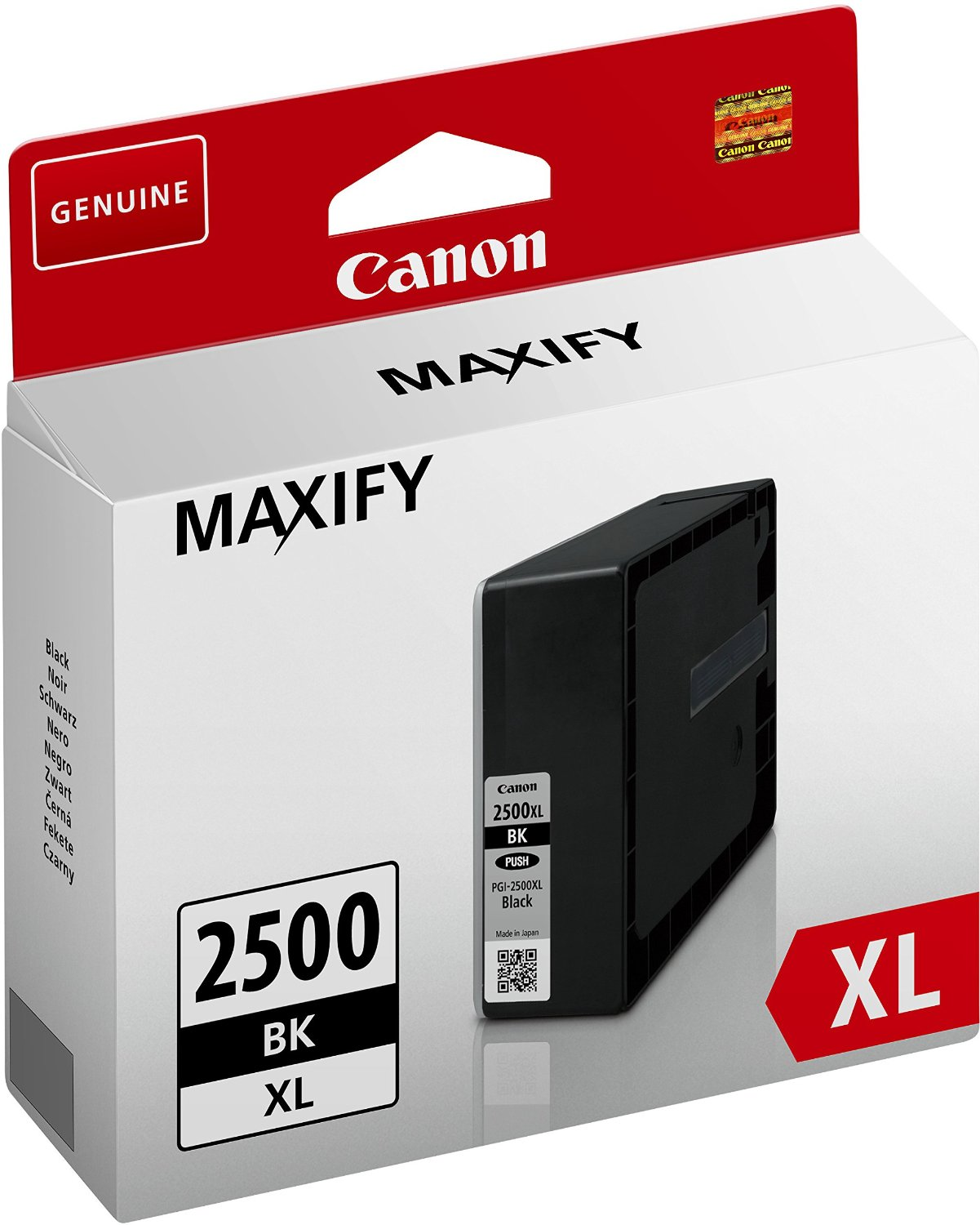 Canon cartridge INK PGI-2500XL BK TRIPLE