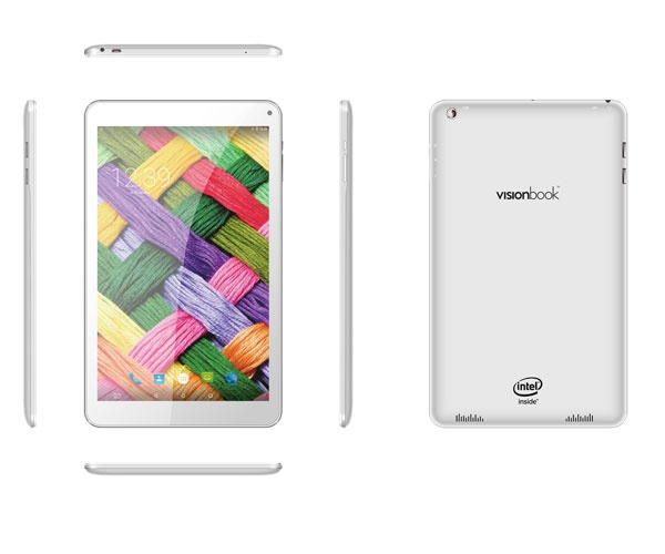 Umax VisionBook 10Qi 3G/10,1´´ 1280x800 IPS/1,2GHz QC/1,5GB/16GB/1x SIM/GPS/WL/BT/SD/A5.1LP