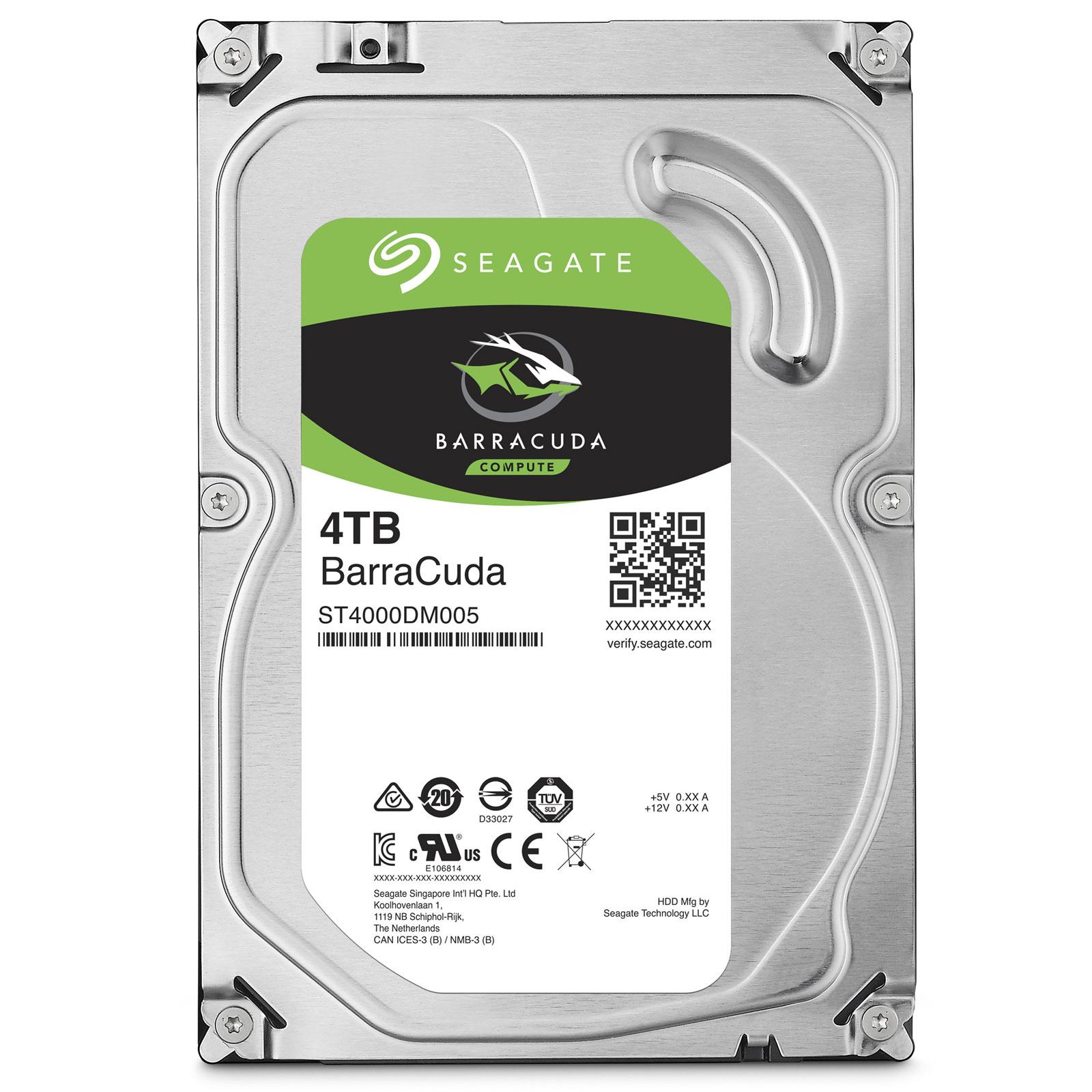 "Seagate BarraCuda 3.5"" HDD, 4TB, 3.5"", SATAIII, 64MB cache, 7.200RPM"
