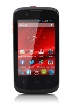 "PRESTIGIO MultiPhone PAP3540DUO 3.5"", Dual SIM, 480*320, Android 4.1, 4GB, MicroSD slot, Wi-Fi, 3G, GPS, černý, bazar"