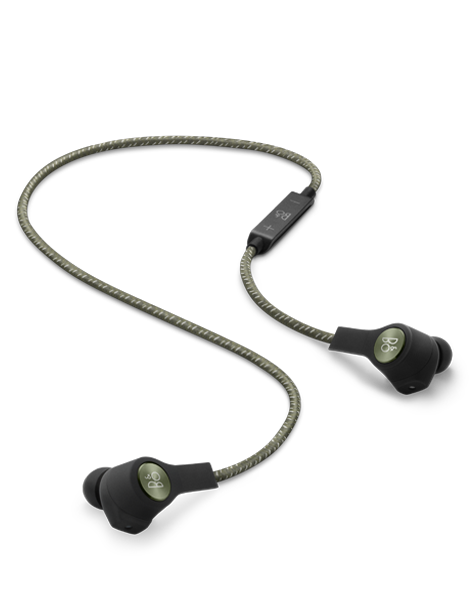 Beoplay H5 bezdrátové Bluetooth sluchátka - Moss Green