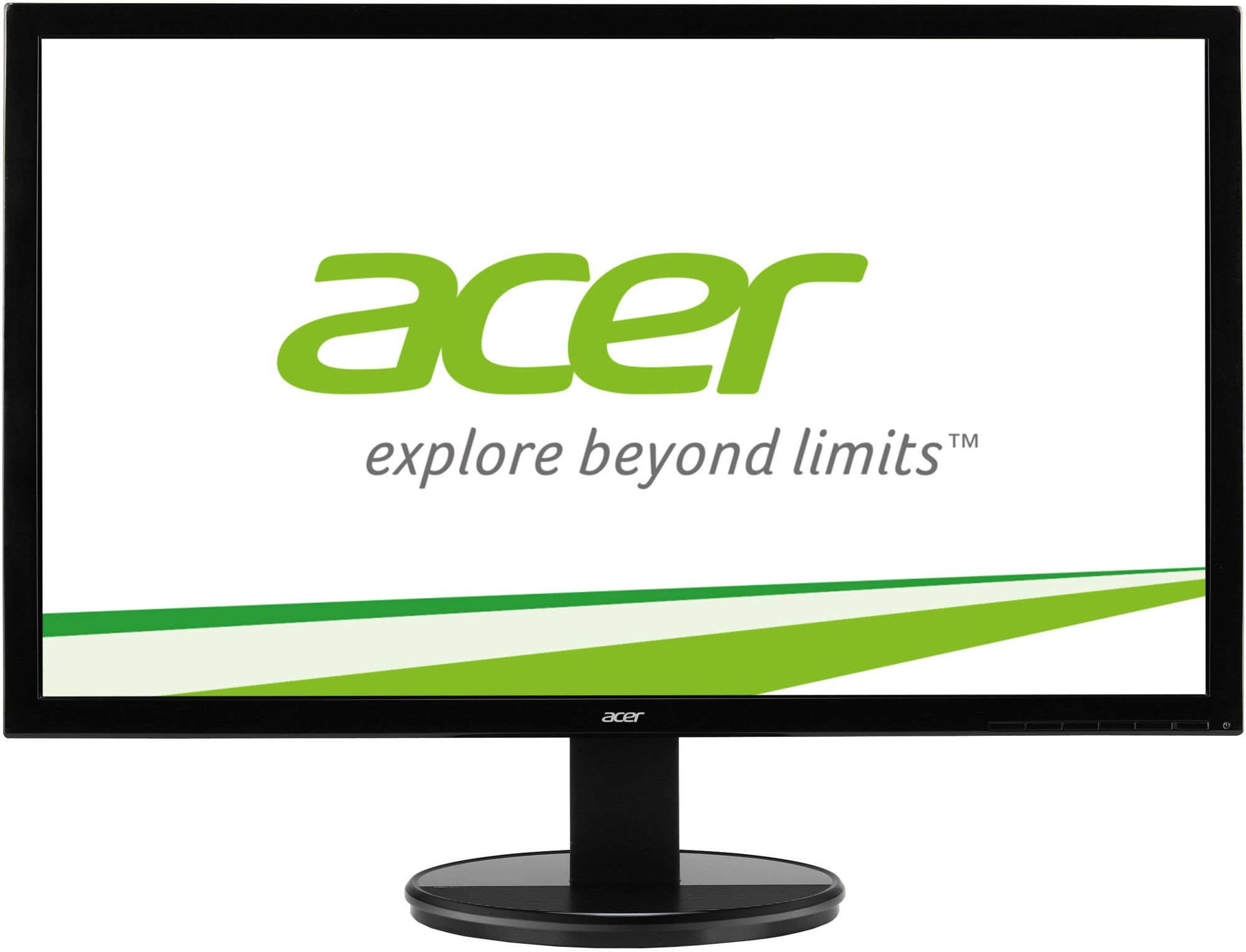 "Acer LCD K242HYLbid 23.8"" W IPS LED/1920x1080/100M:1/4ms/250cd/ACM/DVI/HDMI/MPRII/EcoDisplay/Black"