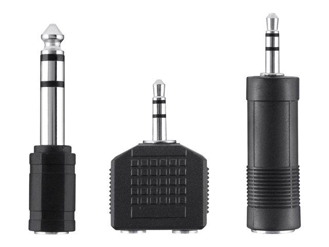 BELKIN Audio redukce jack 3.5-6.3,6.3-3.5,3.5mm