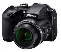 Nikon kompakt Coolpix B500, 16MPix, 40x zoom - černý - rozbaleno