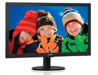 """Philips MT LED 23,6"""" 243V5LHAB/00 - 1920x1080, 10M:1, 250cd/m, 5ms, D-Sub, DVI-D, HDMI, repro, posk obal"""